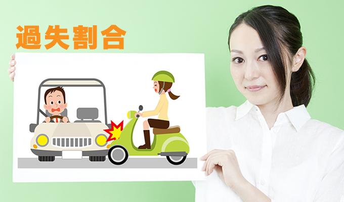 交通事故の過失割合と損害賠償の過失相殺について説明する女性