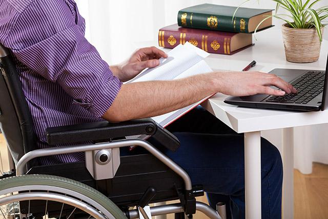 障害を持ってしまった被害者のイメージ画像