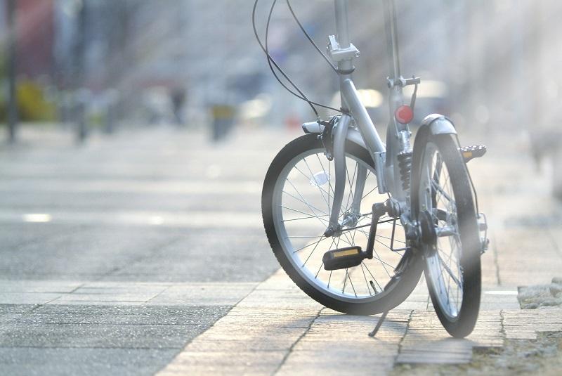 事故に遭う前の被害者の自転車のイメージ画像