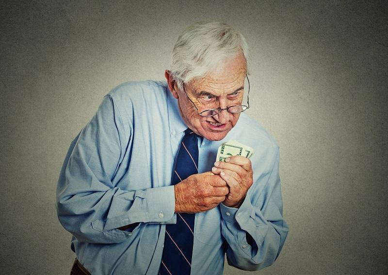 加害者側からお金をとろうと考えた保険会社の担当のイメージ画像