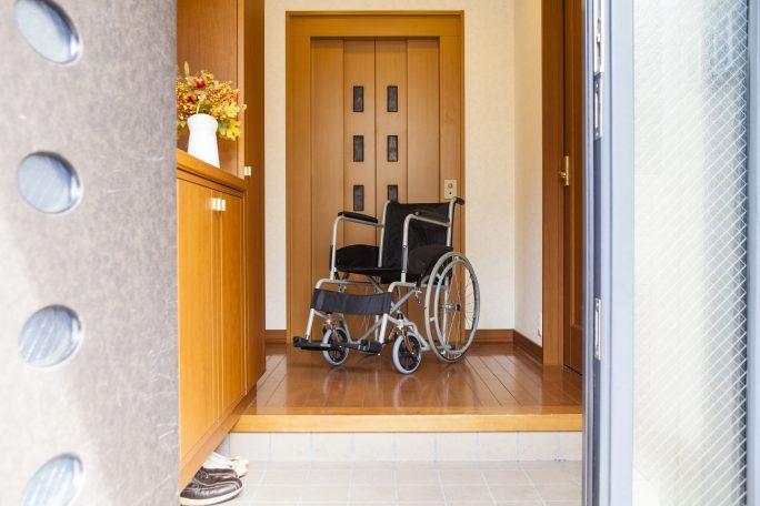 後遺障害を持った被害者のイメージ画像