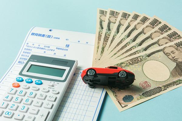 交通事故と保険金のイメージ画像