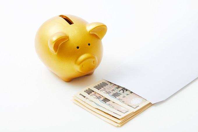 貯金とお金のイメージ画像