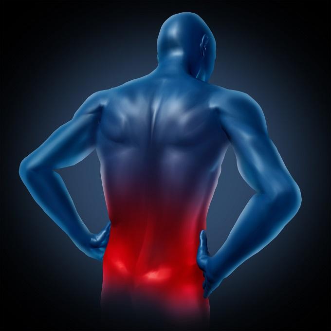 腰の痛みを訴えるイメージ画像