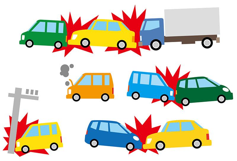 様々な交通事故のイメージ画像